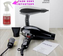 Elchim Milano Ceramic Hair Dryer Professional Blow Dryer 240