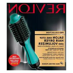 Mint Revlon Pro Collection Hot Air One Step Hair Dryer Brush