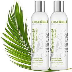 Moroccan Argan Oil Shampoo and Conditioner: SLS Sulfate and