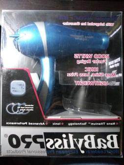 BaBylissPRO Nano Titanium 2000 Watt Ionic Hair Dryer