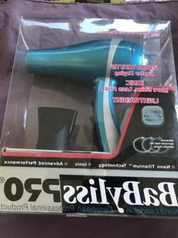 BaBylissPRO Nano Titanium Dryer BABNT5548 Damaged Box