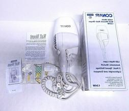 NEW Conair 1600 Watt Wall-Mount Hotel Hair Dryer 134W LED N.