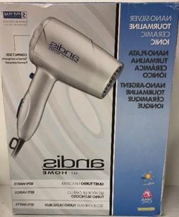 New Andis 75320 Nano-Silver Tourmaline Ceramic Quiet Turbo H