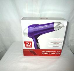 NEW NIB Vidal Sassoon TOURMALINE CERAMIC blow dryer 1875 wat