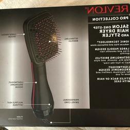 NEW Revlon Pro Collection One Step Hair Ionic Dryer and Brus