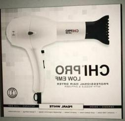 NEW CHI PRO LOW EMF Professional Hair Dryer Diffuser & Conce