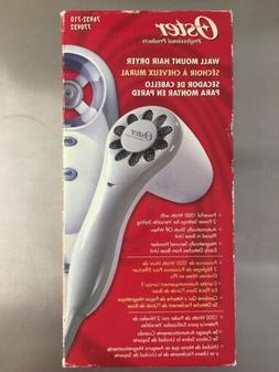 new wall mount oster hair dryer 1500