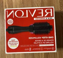 Revlon One-Step Hair Dryer And Volumizer Hot Air Brush Black
