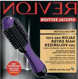 Revlon One-Step~Hair Dryer~Volumizer~Hot Air Brush~Purple
