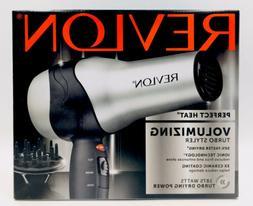 Revlon Perfect Heat Volumizing Turbo Styler Ionic Ceramic 18