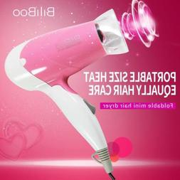 Pink Mini Electric Blow Dryer Hair Care Low Power For Girls