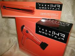 platform professional tourmaline ceramic hair styling iron