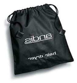 Andis Portable Hair Dryer Storage Bag Black