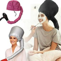 Portable Hair Drying Cap Soft Salon Cap Bonnet Hood Hat Blow