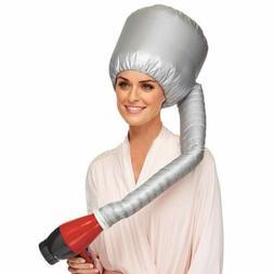 portable soft bonnet hood hair drying cap
