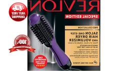 Revlon Pro Collection Hot Air Purple One Step Hair Dryer Bru