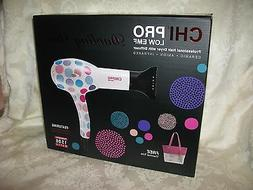 CHI PRO 'Darling Dot' Pro Hair Dryer with Diffuser & FREE Th