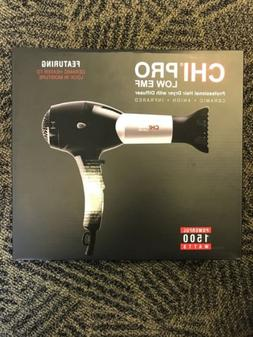CHI PRO LOW EMF 1500W Ceramic Infrared Light Ionic Hair Drye