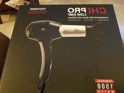 CHI PRO LOW EMF CERAMIC INFRARED HAIR BLOW DRYER + DIFFUSER