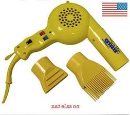 Conair Pro Yellow Bird Hair Dryer , Free Shipping, New!