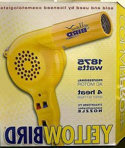 Conair Pro Yellowbird Blackbird Professional Styling Hair Dr