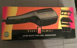 professional 1600 watt styler hair dryer nib