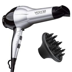 Revlon Professional 1875W Ionic Hair Blow Dryer with Diffuse