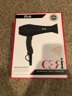 Berta Professional Hair Dryer iRed Infrared Ionic Hair Dryer