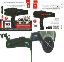 professional hair dryer turbo jet 3000 black