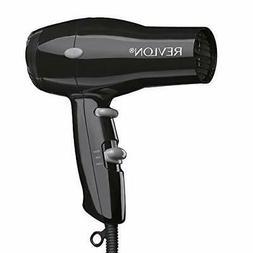 Revlon 1875W Compact And Lightweight Hair Dryer, Black