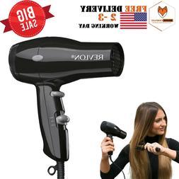 Revlon 1875W Compact Hair Dryer Travel Professional Ionic Tu