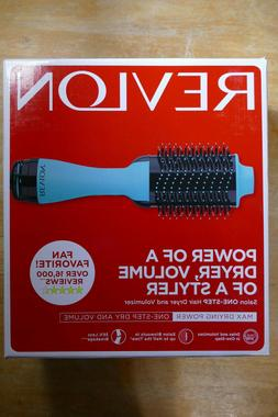 Revlon One Step Hair Dryer And Volumizer Hot Air Brush, Mint