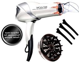 Revlon RVDR5264 Infrared Hair Dryer with Clips 1875W | Bonus