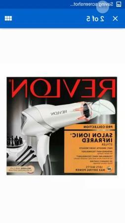 Revlon RVDR5264 Infrared Hair Dryer with Clips 1875W