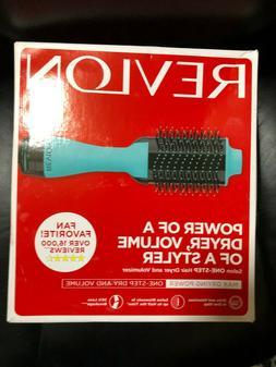 REVLON SALON ONE-STEP HAIR DRYER AND VOLUMIZER HOT AIR BRUSH