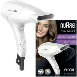 Braun Satin 1 Hair Dryer PowerPerfection 1800W with Styling