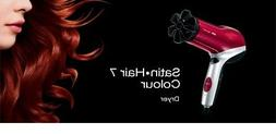 Braun Satin Hair 7 Color Dryer HD 770 RED Professional Haird