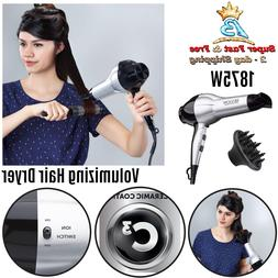 Volumizing Turbo Hair Dryer Hair Care Styling Matte Black 18