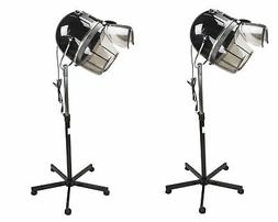 Set Of 2 BERKELEY Orion Salon Hair Dryer On Stand Light Weig