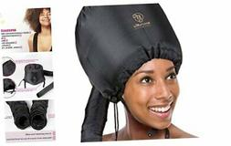 Soft Bonnet hooded hair dryer Attachment for Natural Curly T