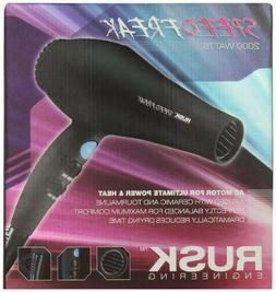 Rusk Speed Freak Hair Dryer 2000 Watts, Black Color, Brand N