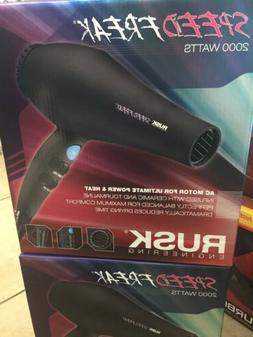 Rusk Speed Freak Hair Dryer 2000 Watts, Black Color, Brand N