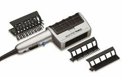 Styling Hair Dryer 3in1 Dual Volt 1875W Straightener w/ Atta
