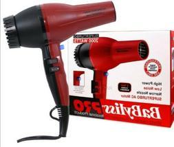 Babyliss Pro Super Turbo Professional Hair Dryer 2000 Watt #
