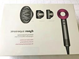 Dyson Supersonic™ Hair Dryer in Fuchsia/Iron New in a Box