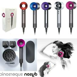 Dyson Supersonic Hair Dryer Professional Super Sonic NEW SEA