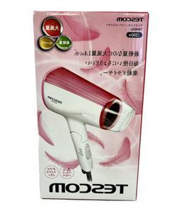 Tescom TID422U Negative Ions Hair Dryer, Pink - 120V 1300W