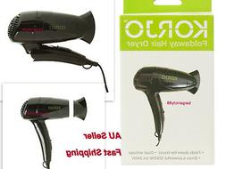 travel foldaway worldwide hair dryer dual voltage