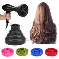 Travel Portable Silicone Folding Hairdryer Diffuser Cover Ha