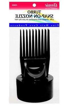 Annie Turbo Snap On Hair Dryer Pik Black #3002